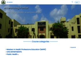 lms.uhs.edu.pk