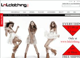 lnlclothing.com