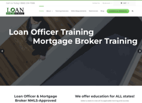 loanofficerschool.com