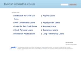 loans12months.co.uk