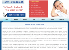 loansforbadcredit.me.uk