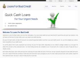 loansforbadcredit.org.uk