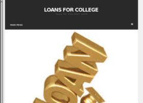 loansforcollege.info