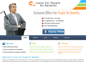 loansforpeopleonbenefits.org.uk