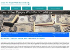 loansforpeoplewithbadcreditt.co.uk