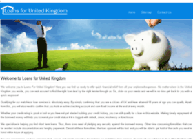 loansforunitedkingdom.co.uk