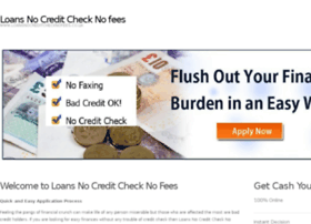 loansnocreditchecknofees.co.uk