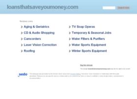 loansthatsaveyoumoney.com