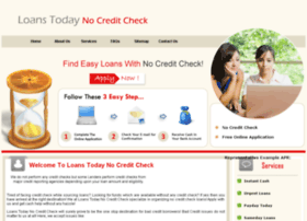 loanstodaynocreditcheck.org.uk