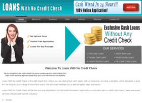 loanswithnocreditcheck.org.uk