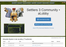 lobby.siedler3.net