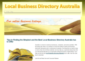 localbusinessdirectoryaustralia.snappages.com