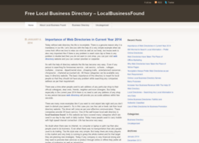 localbusinessfound.wordpress.com