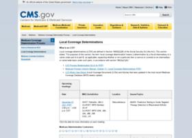 localcoverage.cms.gov