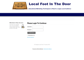 localfootinthedoor.com