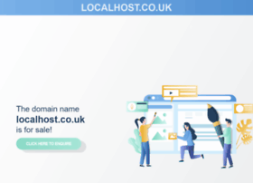 localhost.co.uk