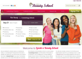 locateabeautyschool.com