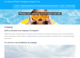 location-chalet-camping-ariege.com