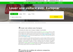 location info location de voiture europcar. Black Bedroom Furniture Sets. Home Design Ideas