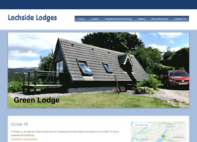 lochsidelodges.co.uk