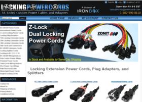lockingpowercords.com