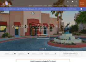 lodgeonthedesert.com