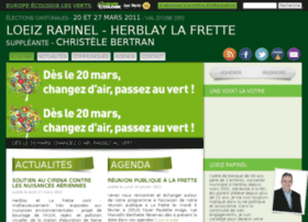 loeizrapinel.eelv-cantonales.fr