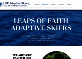 lofadaptiveskiers.org