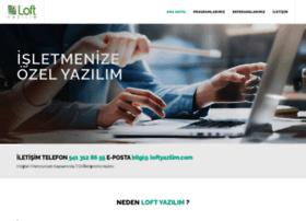 loftyazilim.com
