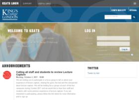 login-keats.kcl.ac.uk