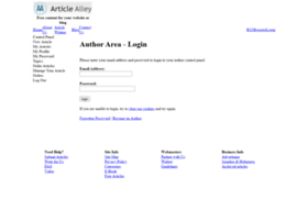 login.articlealley.com