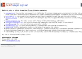 login.asm.org