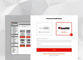 login.autodns.com