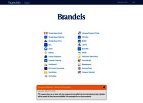 login.brandeis.edu