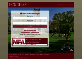 login.fordham.edu