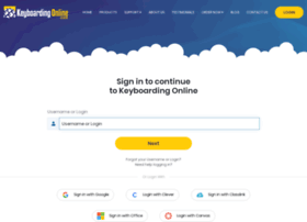 login.keyboardingonline.com