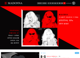 login.madonna.com