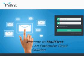 login.mailfirst.in