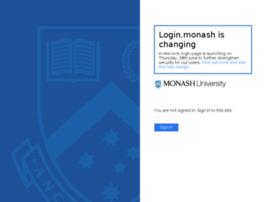 login.monash.edu