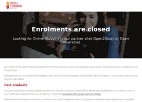 login.opentraining.edu.au