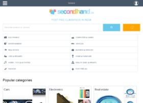 login.secondhand.in