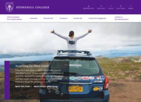 login.stonehill.edu