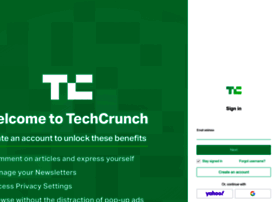 login.techcrunch.com