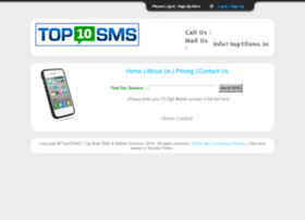 login.top10sms.in