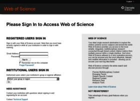 login.webofknowledge.com