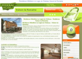 logis-chateau-vaison-romaine.federal-hotel.com