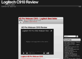 logitechc910review.com