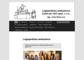 logopedie-ritterova.cz