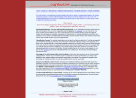 logyourlink.com