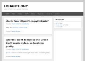 lohanthony.com
